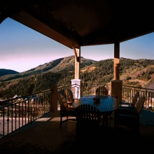 Deer Crest, Deer Valley - Front Living Balcony