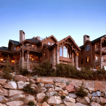 Deer Crest, Deer Valley - Street Elevation