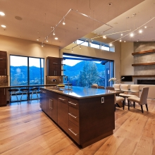 Great Room, Kitchen, and Dining Room Overview