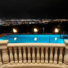 Salt Lake City Parade of Homes 2010 - Rear Pool Balcony