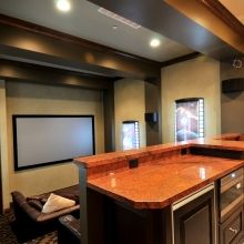 Salt Lake Parade of Homes 2010 - Theatre Room