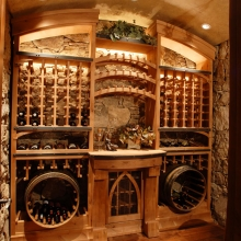 Sunny Knoll Park City - Wine Cellar